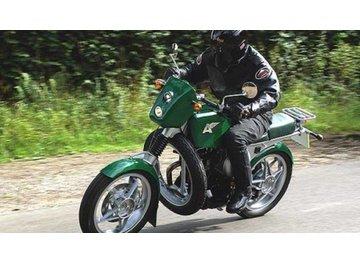 Встречайте Greenfly, мотоцикл Yamaha XT500, переоборудованный на ГБО